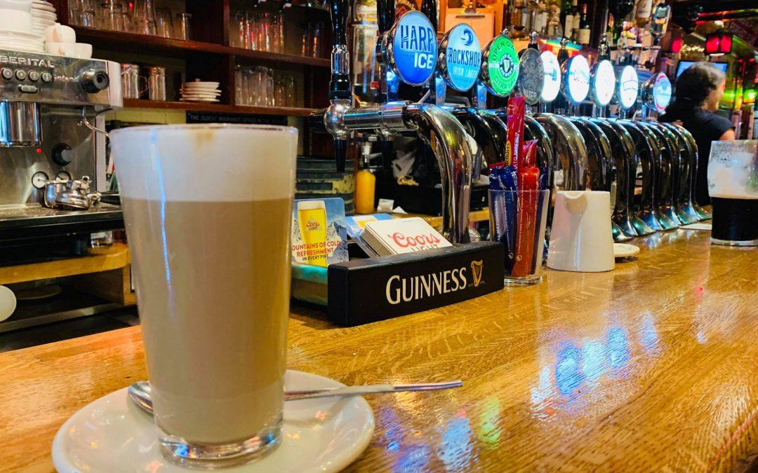 Kaffeezeit in Irland