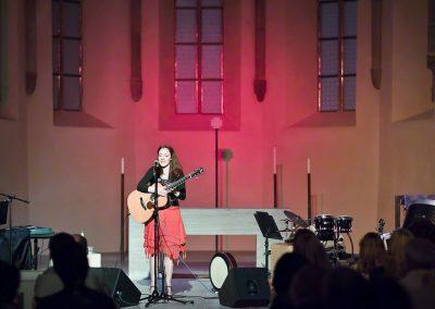 Gabriele Schuh Solokonzert in St. Klara mt Irischen Songjuwelen
